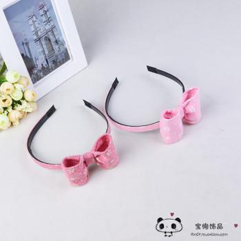 The Korean version of the hair accessories cloth cloth teeth stick children head hoop hoop