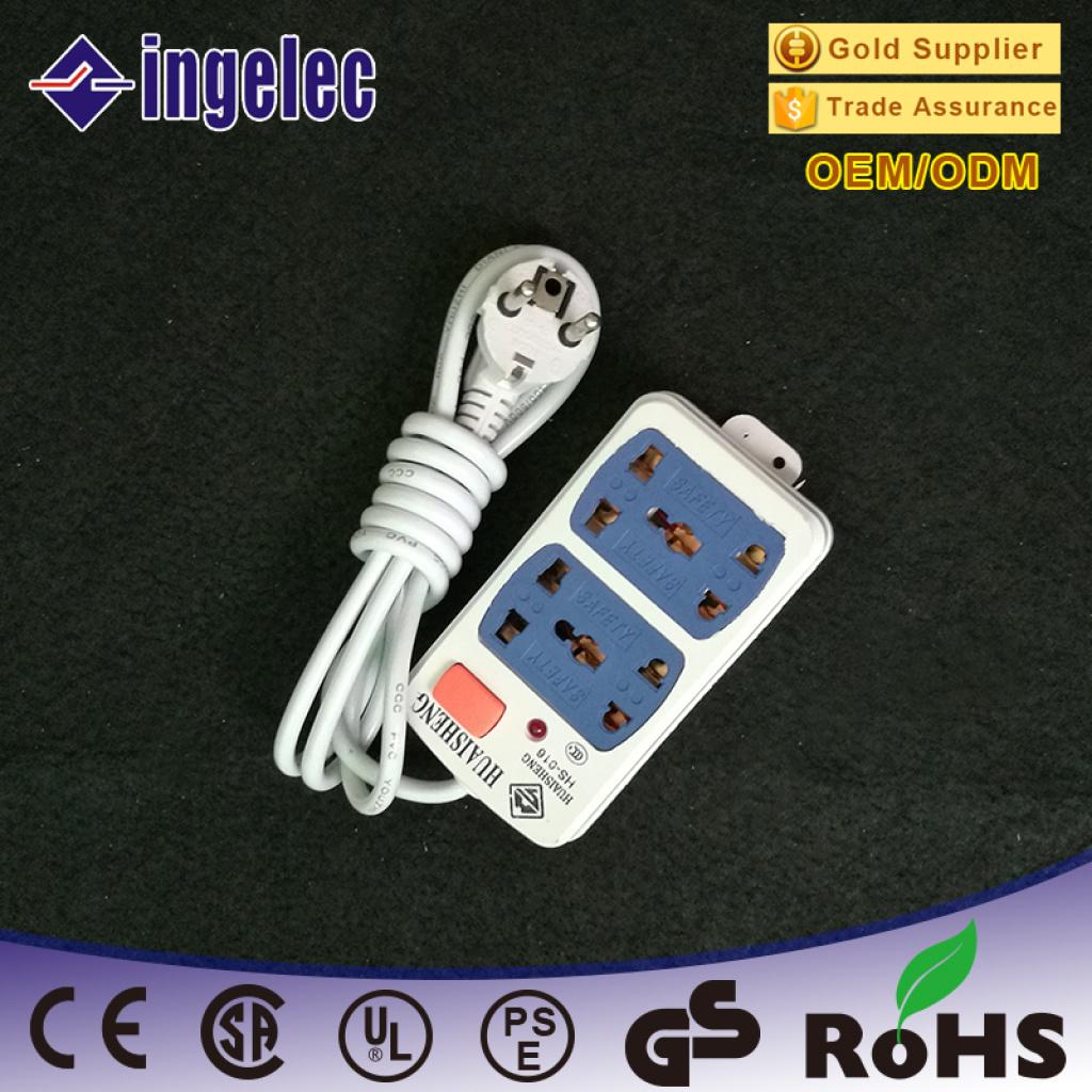 欧标插头多功能插线板 带线排插 接线板