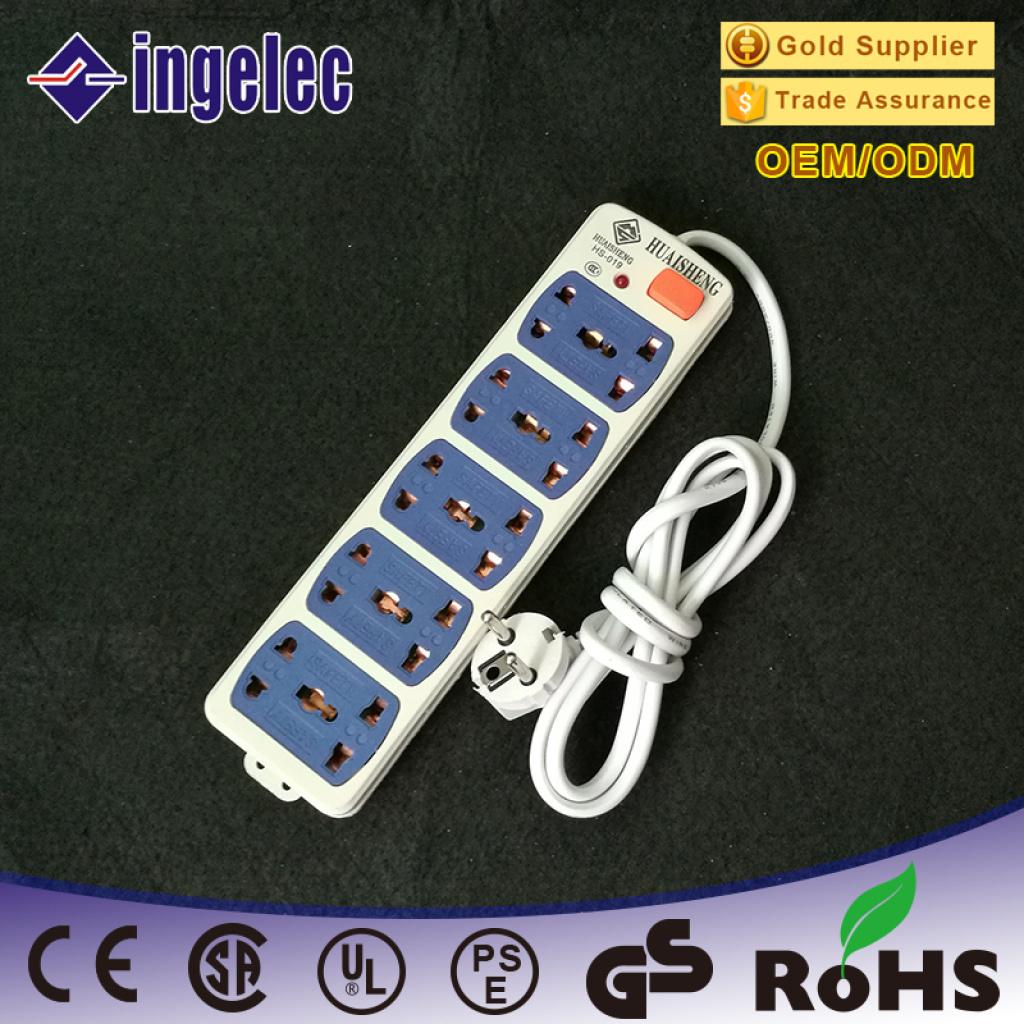 供应外贸多孔插座 多功能插线板排插 接线板