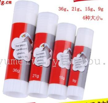 Glue 36 grams of solid plastic
