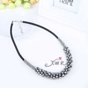 Crystal necklace manufacturers direct sweater chain