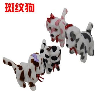 The dog dog stall back markings electronic toy dog plush toys wholesale electric electronic dog