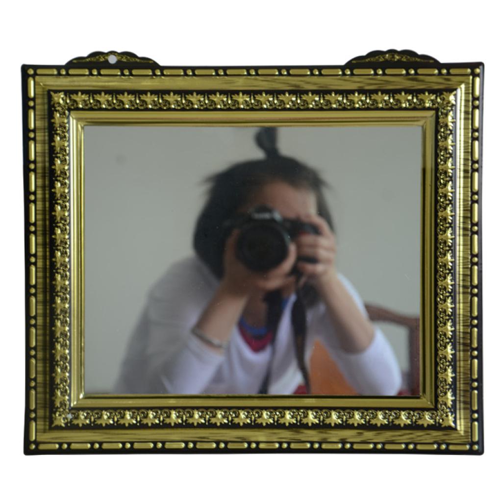 吸塑框贴镜子,塑料框贴镜子,10号镜子金横