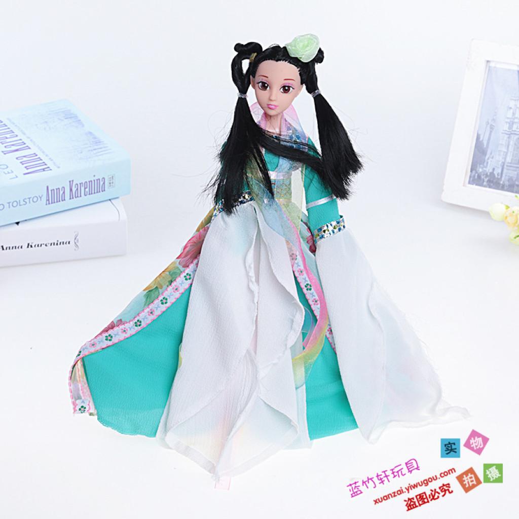 古装仙女娃娃 芭比娃娃女孩玩具