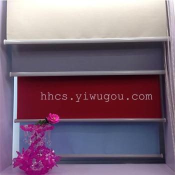 Direct sales thickened half blackout shutter office insulated balcony Workshop Curtains