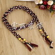 Tassel beads decorative pendant wool woven with jewelry accessories