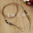 Factory direct variety of feather decorative braided rope accessories line