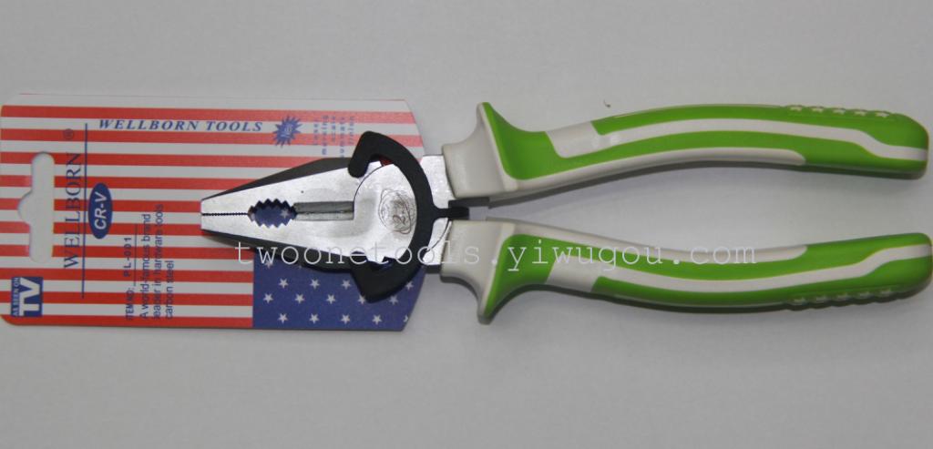 la vendita diretta bandiera con pinze, pinze, pinze clamp a filo, diagonale