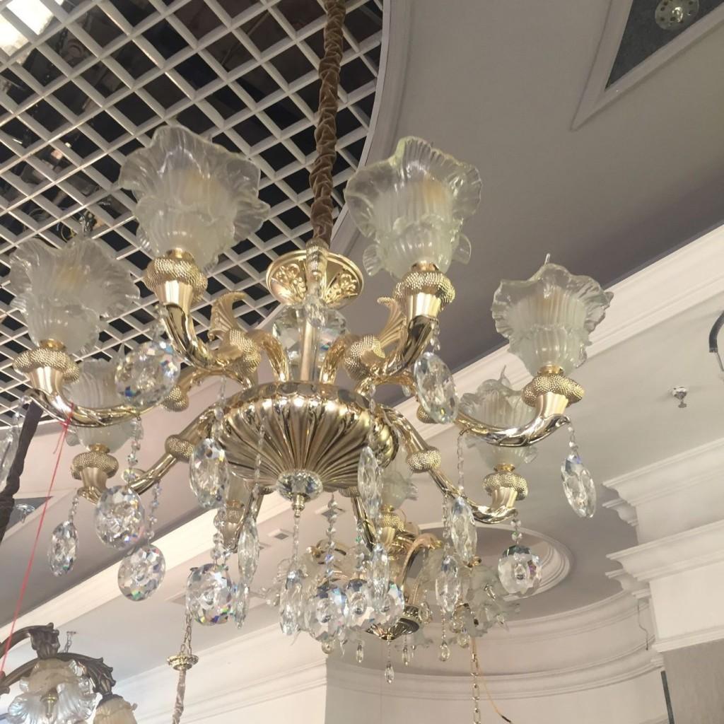 水晶灯欧式灯简欧灯具家装灯具卧室灯