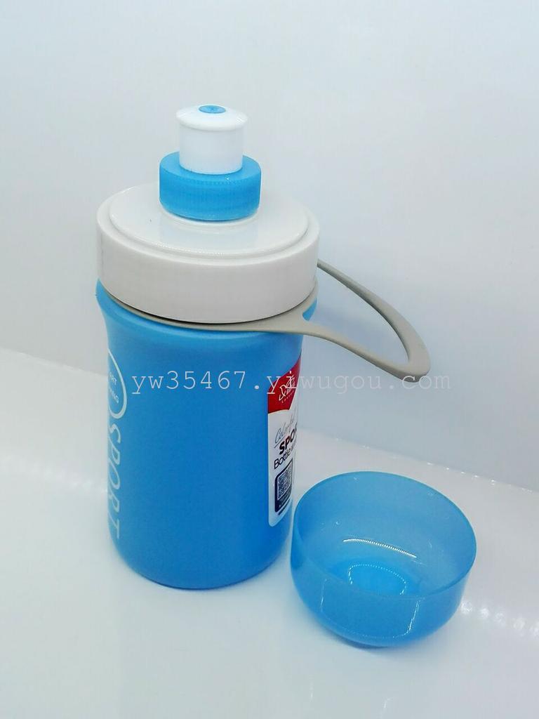 女士便携水杯子可爱花茶杯学生创意茶杯透明带盖随手杯
