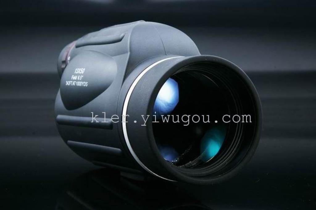高倍高清手持13x50单筒望远镜观靶镜