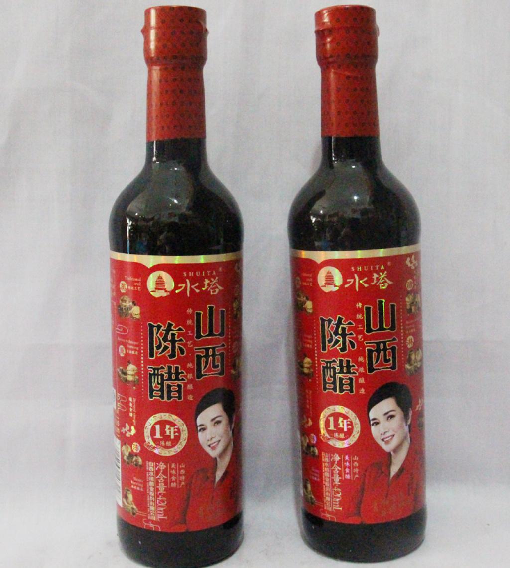 水塔 山西陈醋1年陈酿 36个月 420ml