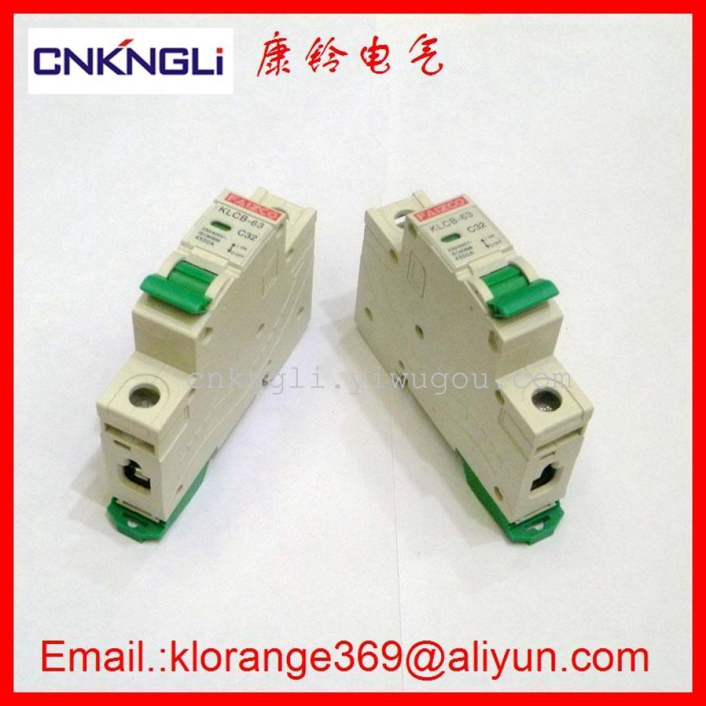 Supply Mcb Circuit Breaker Short Protection