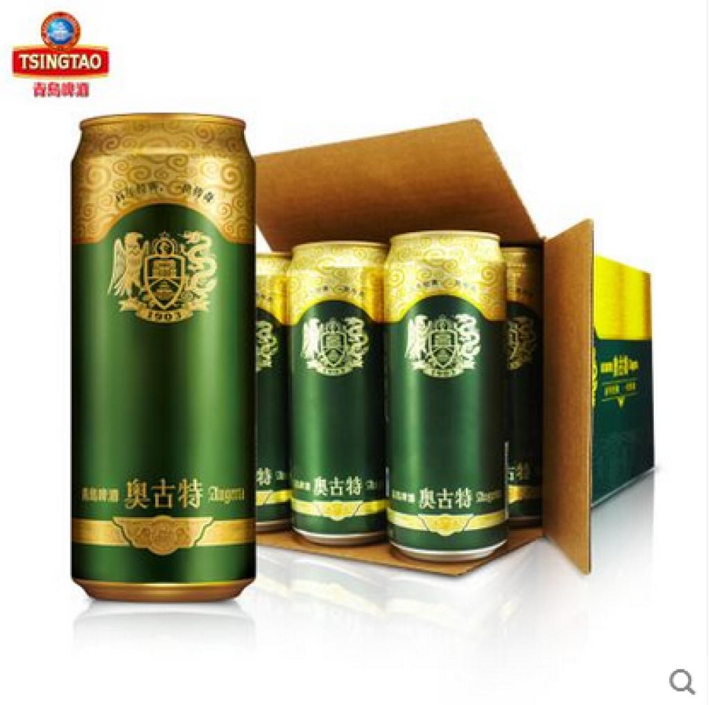 青岛啤酒 高端 奥古特 整箱 12度500ml*12听/箱