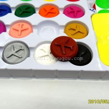 晨奇lb-8026 环保蜡笔 飞行棋 16色 益智玩具
