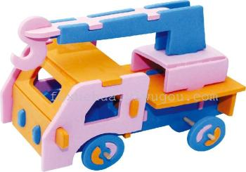 Handmade DIY car model Meilu material package Yi Chi toys gifts three - dimensional puzzle