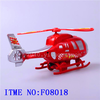Selling children toys wholesale supply color cartoon toy stall pull model plane