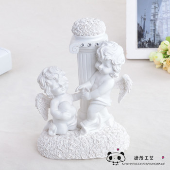 European resin crafts wedding TV cabinet decoration Cupid