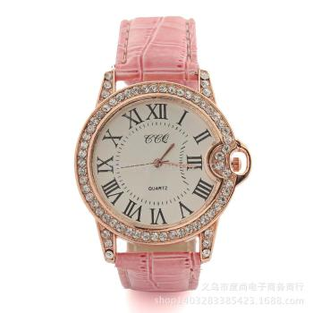 Geneva, France, the new style of the French watch with diamonds sold through the sale of explosive models