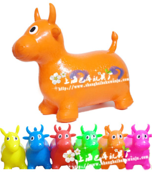 Direct manufacturers jumping horse new material thicken rubber Pima wholesale cheap children's inflatable toys