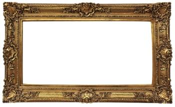 直供 欧式画框 经典装饰画 复古艺术框60*120 油画框