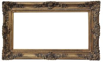 欧式画框 经典装饰画 复古艺术框 60*120厂家直销013