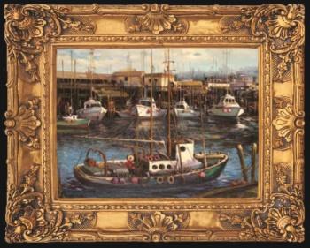 厂家直销欧式画框 油画框 装饰画 复古艺术画框 工艺画925