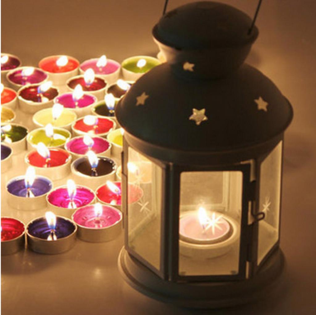 香薰烛台蜡烛 水果彩色蜡烛 浪漫告白表白场景摆图