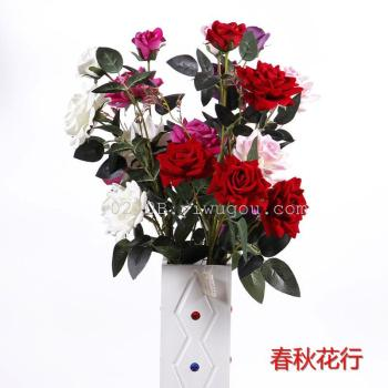 The rose plant Home Furnishing decoration decoration Home Furnishing simulation flower flowers
