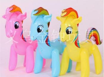 PVC inflatable toys for children sold in the stock market supply pony polly