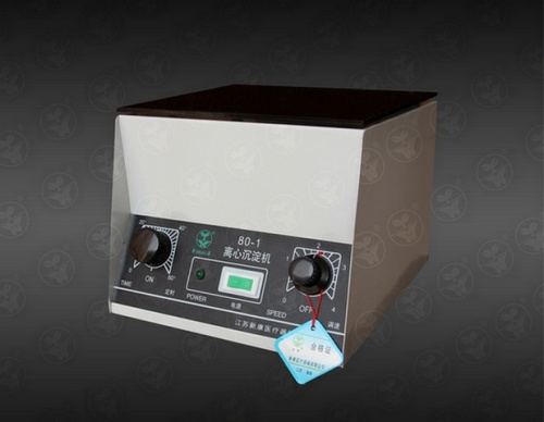 80-1型离心沉淀机(6孔)--医疗用品,实验室器材