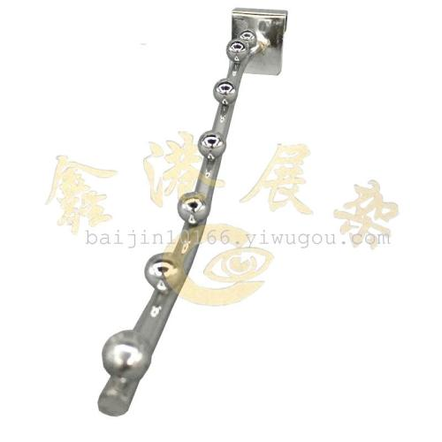 Chi-square 7 bead hook line diameter 6mm clothing stores jewelry store display hooks
