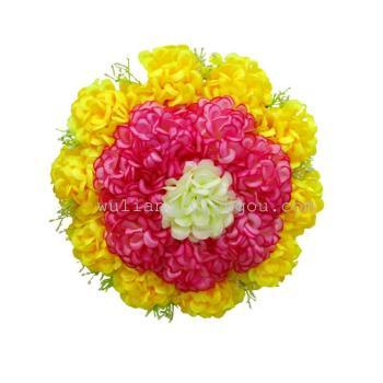 18 headed Chrysanthemum