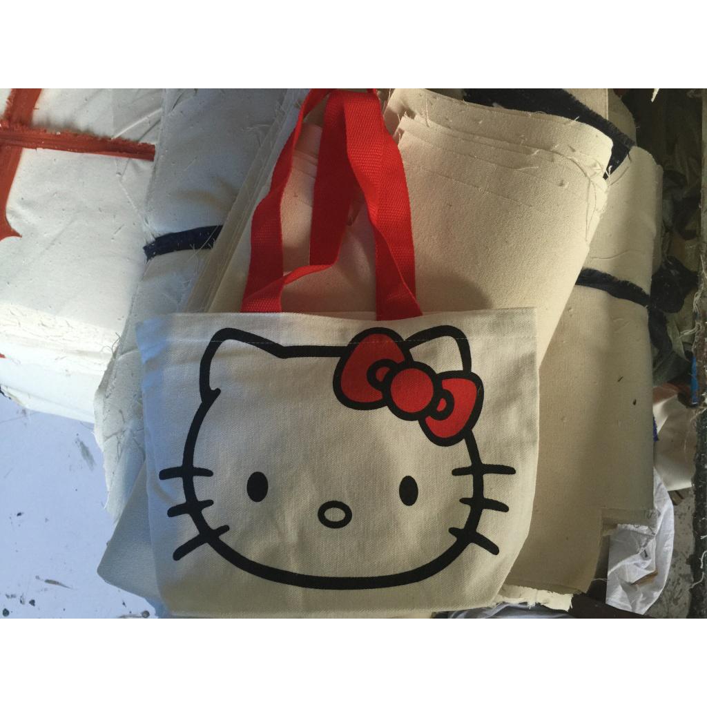 韩版儿童空白手绘棉布袋订制环保棉