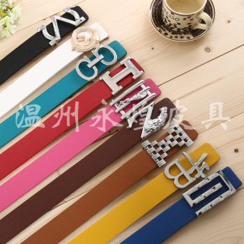 3.5cm Korean Unisex casual fashion belt