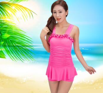 Thin swimsuit swimsuit