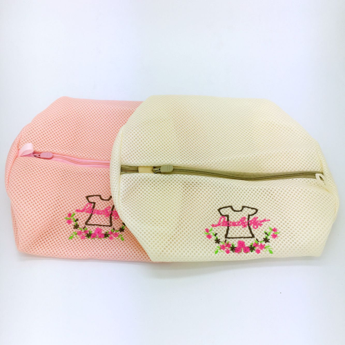 The laundry bag embroidered clothing designer bag