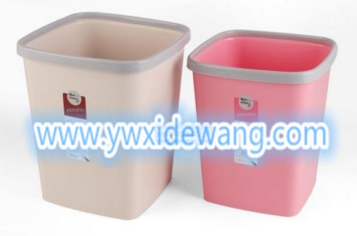 压圈方形垃圾桶 家居家用卫生桶