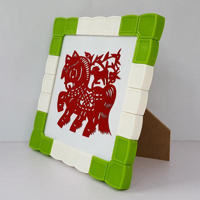 新年礼物 创意手工制作模块剪纸相框磁性剪纸装裱画框