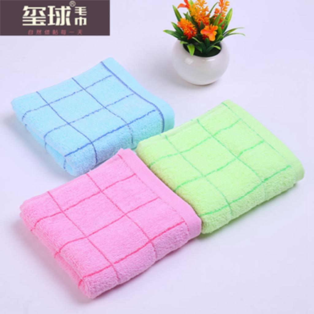 полотенце, полотенце, полотенце трудового обеспечения хлопка абсорбирующие крупных решётка