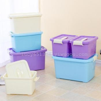 Portable storage box clothing storage box food and glove box 3 sets