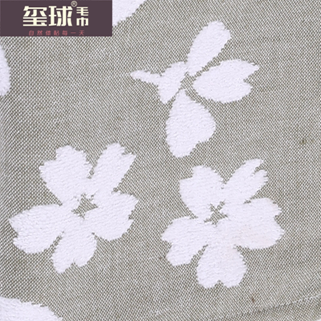 純粋な綿のタオルタオルジャガードタオルギフトタオル
