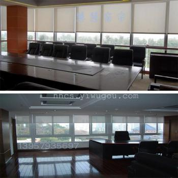 Office of the company to do the room sunshine fabric curtain curtain finished custom-made manufacturers of foreign trade