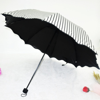 【375】爆款条纹雨伞 太阳伞批发防紫外线遮阳伞