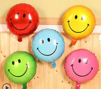 可爱表情笑脸表情包铝膜气球图片