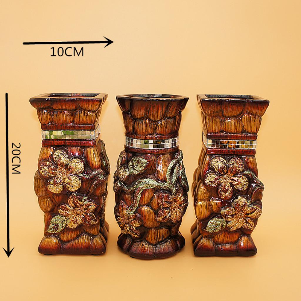 réchauffer des pièces florales 8 cm 20 cm haute température après ensemencement vase céramique, rome