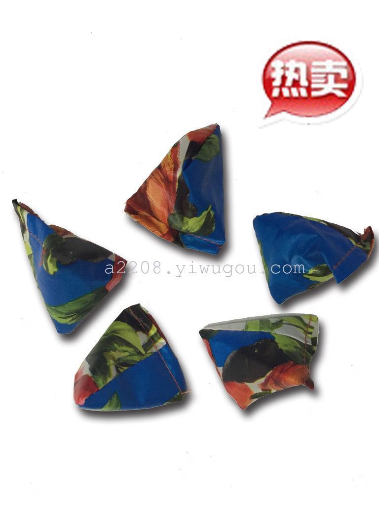 粽子沙包 儿童手工三角包 丢沙包抓石子幼儿园早教亲子玩具游戏