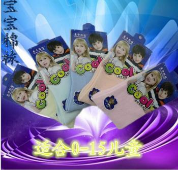 Children's socks, boys and girls socks wholesale 0-15 independent packaging baby socks