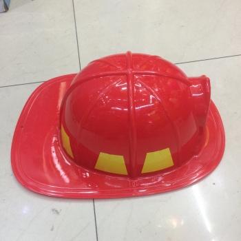 消防员帽子 火警队长塑料帽