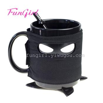 The British Thumbs Up creative Ninja Ceramic Mug Coffee Cup
